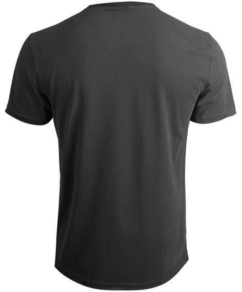 koszulka NIRVANA - 4 SQUARE SMILEY ciemnoszara