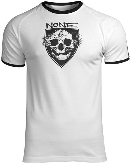 koszulka NONE - 6 PLAYER biała