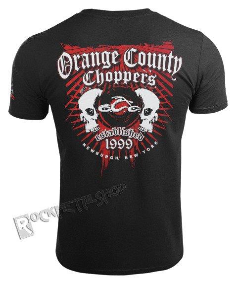 koszulka ORANGE COUNTY CHOPPERS - TWO SKULLS