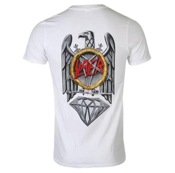 koszulka SLAYER - BRILLIANT ABYSS biała