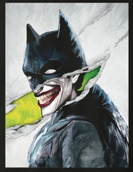 koszulka THE JOKER DC COMICS - JOKER SMILE