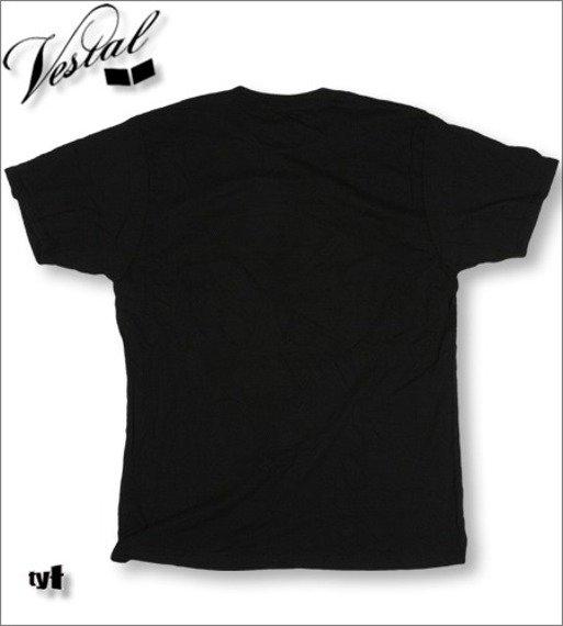 koszulka VESTAL -TV FLYER  (BLACK)