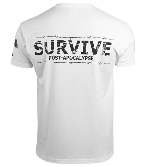 koszulka WASTELAND - POST-APOCALYPSE, biała