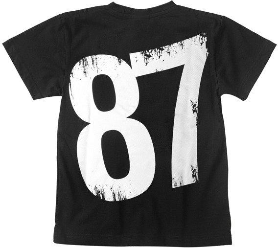 koszulka dziecięca PIDŻAMA PORNO - 87 black