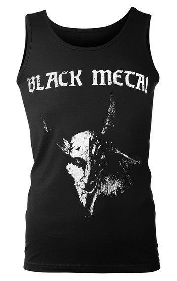 koszulka na ramiączkach BLACK METAL