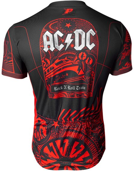 koszulka rowerowa AC/DC - ROCK'N ROLL TRAIN