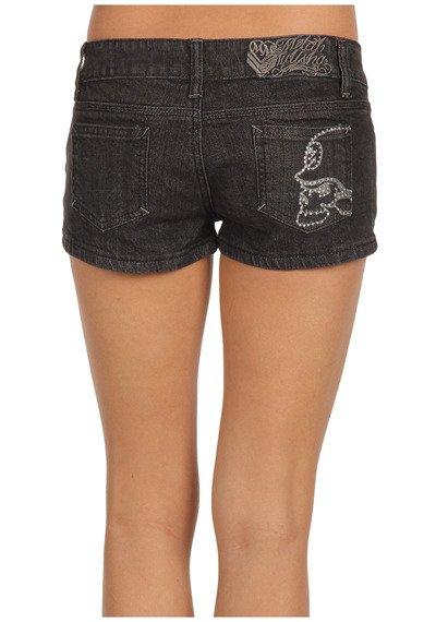 krótkie spodenki jeansowe METAL MULISHA - LIL SECRETS