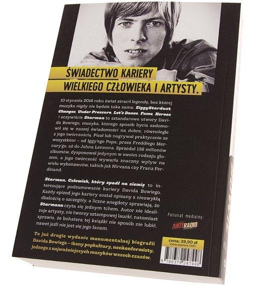 książka DAVID BOWIE - STARMAN autor: P. Trynka