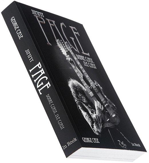 książka JIMMY PAGE: DOBRE CZASY, ZŁE CZASY - autor George Case