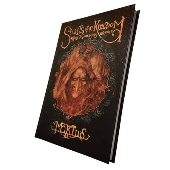 książka MORTIIS: SECRETS OF MY KINGDOM: RETURN TO DIMENSIONS UNKNOWN, wersja anglojęzyczna