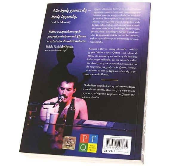 książka QUEEN - NIEZNANA HISTORIA