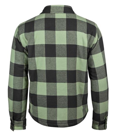 kurtka/koszula LUMBERJACKET black/olive