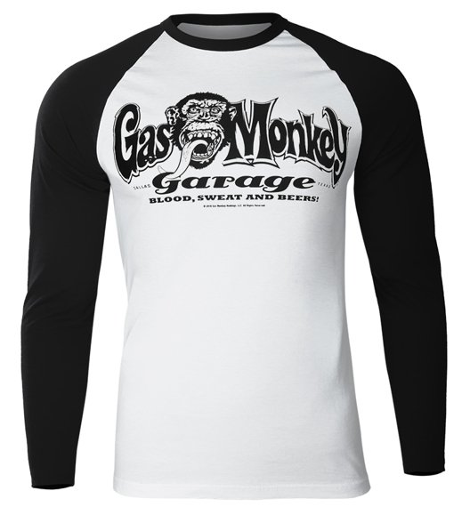 longsleeve GAS MONKEY GARAGE - LOGO