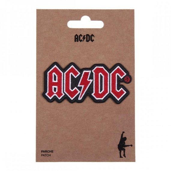 naszywka termiczna AC/DC - LOGO