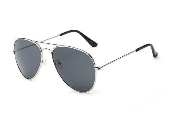 okulary przeciwsłoneczne AVIATOR SILVER