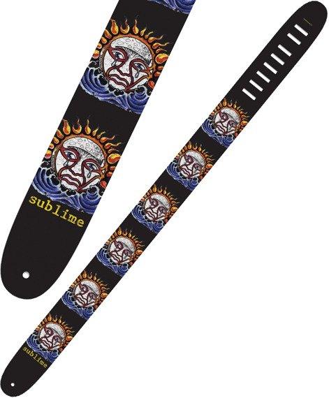 pas do gitary SUBLIME - SUN skórzany, 63mm