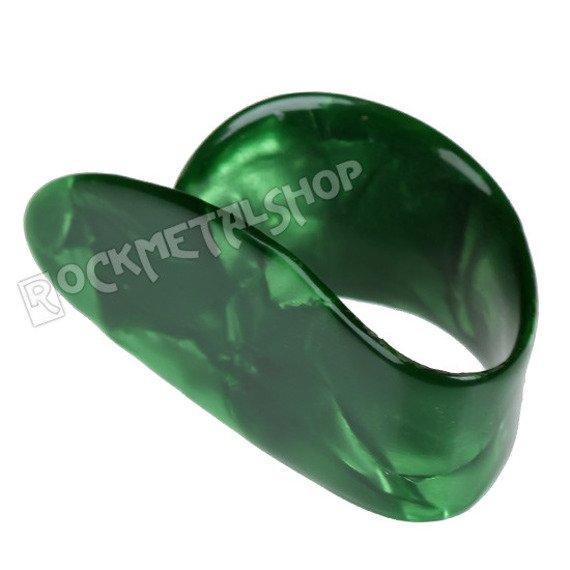 pazurek na kciuk średni BOSTON TORTOISE / GREEN