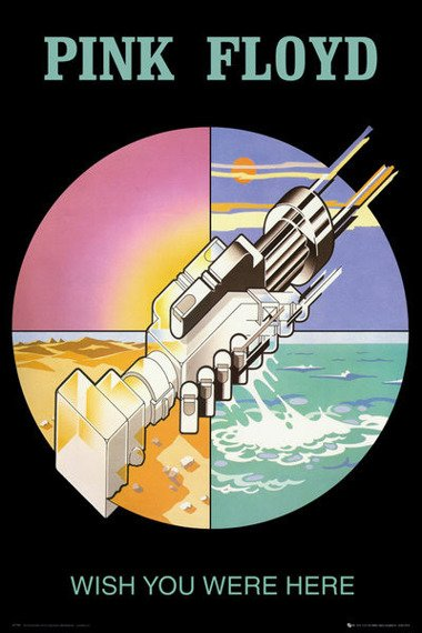 plakat PINK FLOYD - WISH YOU WERE HERE 2