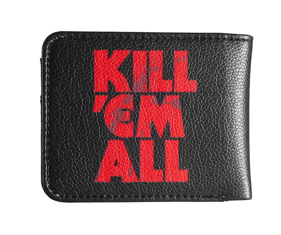portfel METALLICA - KILL EM ALL - BLOOD