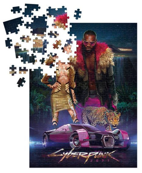 puzzle CYBERPUNK 2077 - NEOKITSCH 1000 szt.