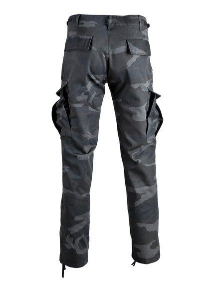 "spodnie bojówki US RANGER HOSE TYP BDU "" STRAIGHT CUT "" blackcamo"