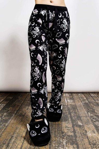 spodnie piżamowe KILLSTAR - MOONBOW