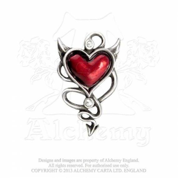 sprężynka do włosów DEVIL HEART