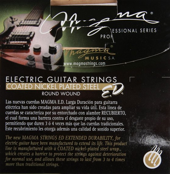 struny do gitary elektrycznej MAGMA E.D. - GE130ED PROFESSIONAL - Custom Light /009-042/