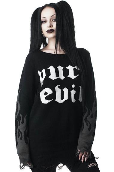 sweter KILL STAR - PURR EVIL