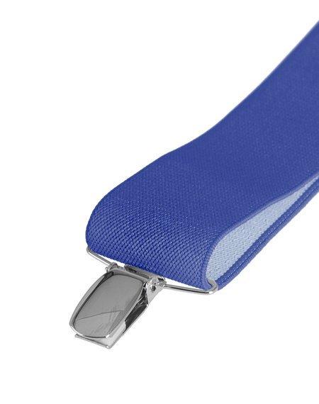 szelki damskie niebieskie, 35 mm