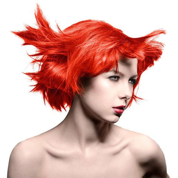 toner do włosów MANIC PANIC AMPLIFIED - HELLFIRE 118ml  5-6 tygodni na włosach
