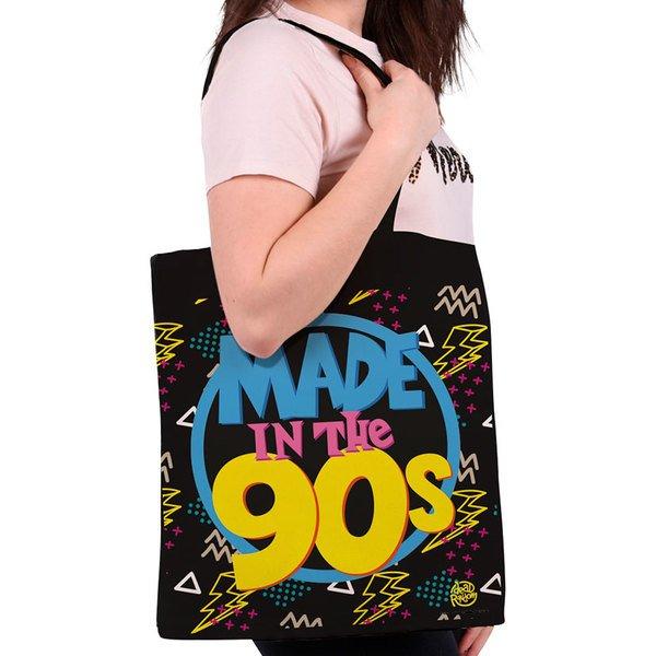 torba na ramię CHILD OF THE 90S - MADE IN THE 90S  płócienna