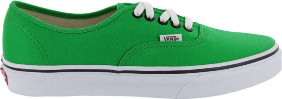 trampki VANS - AUTHENTIC BRIGHT GREEN /BLACK