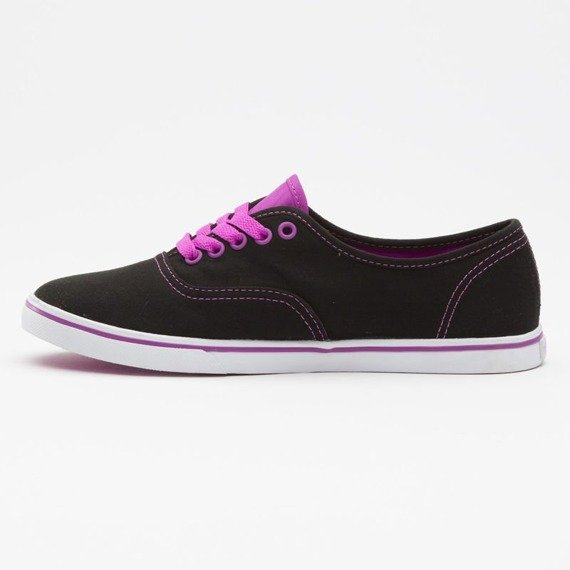 trampki damskie VANS  - AUTHENTIC LO PRO BLACK PURPLE