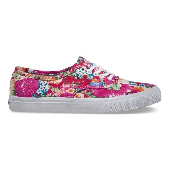 trampki damskie VANS - AUTHENTIC SLIM MULTI FLORAL TRUE WHITE
