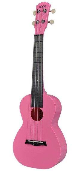ukulele koncertowe KORALA różowe PUC-20-PK