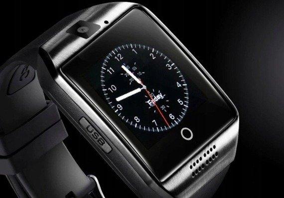 zegarek SMARTWATCH Q18 black