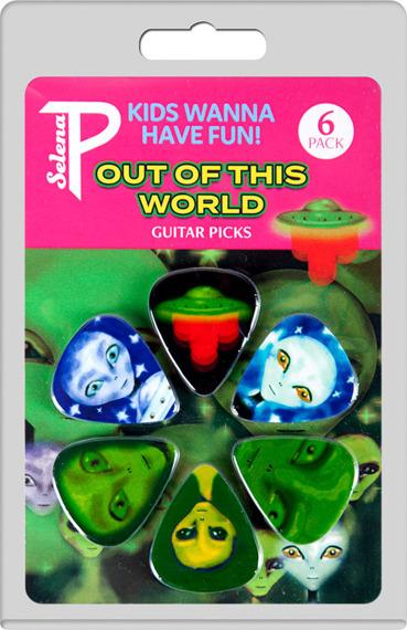 zestaw kostek PERRI'S ALIENS - OUT OF THIS WORLD LP-PL9 (6 szt)